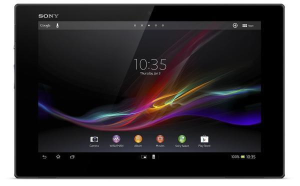 Xperia Tablet Z – Sony da más detalles de su nueva tablet en el MWC 2013