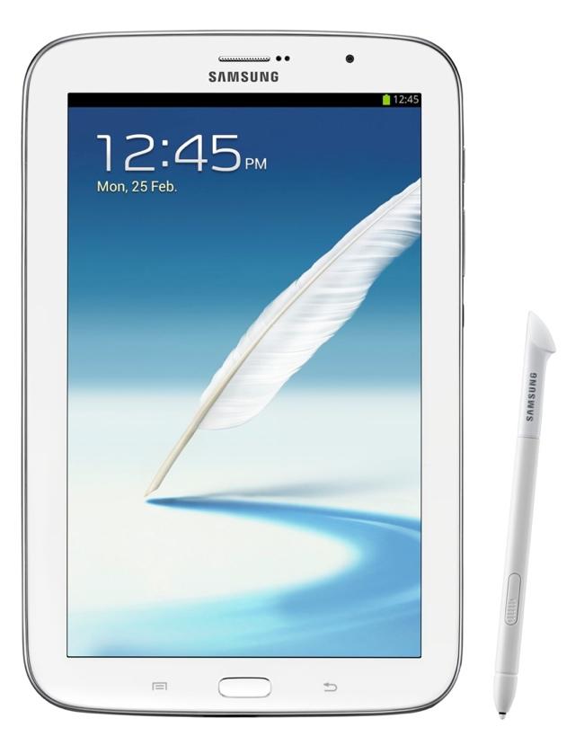 Galaxy Note 8.0 es presentado por Samsung para competir con el Nexus 7 y el iPad Mini