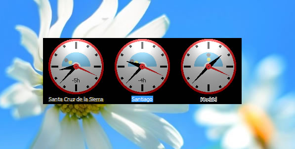 Gadget hora WIndows 8