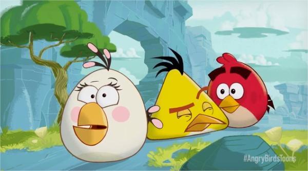 Angry Birds para iOS de forma gratis – la primera versión