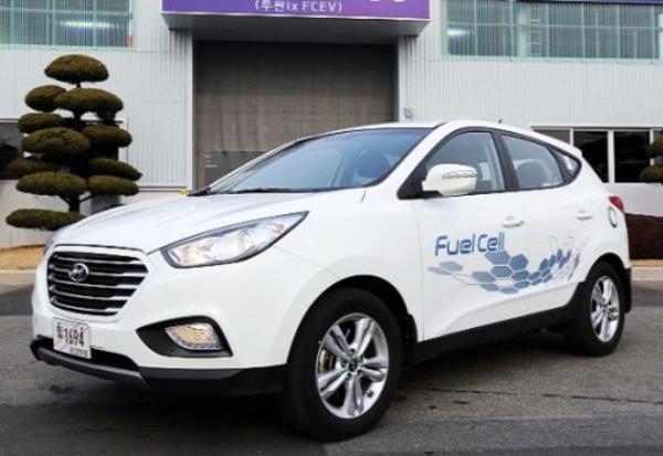 Hyundai ix35 el primer coche comercial del mundo con celdas de hidrogeno