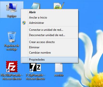 Como cambiar el nombre de equipo de Windows 8
