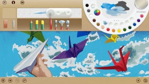 Demostración de Fresh Paint refuerza el lanzamiento de Windows Blue