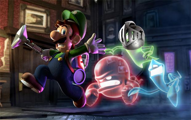 Luigis Mansion Dark Moon (Nintendo 3DS)