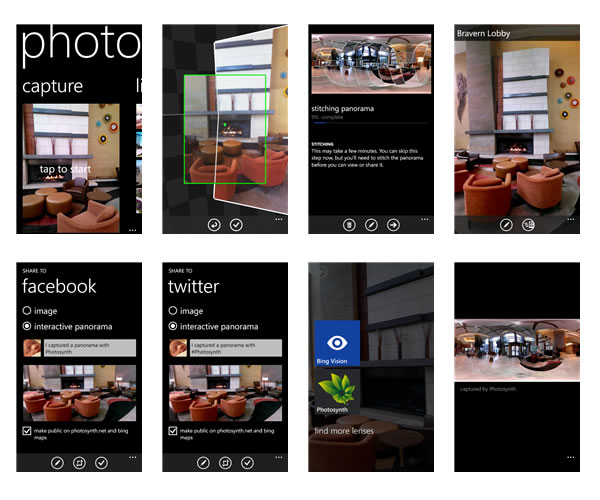 Photosynth ya está disponible para Windows Phone 8