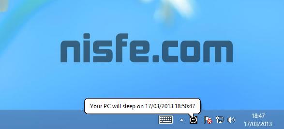 Programar el apagado automático de Windows con DelayedSleep