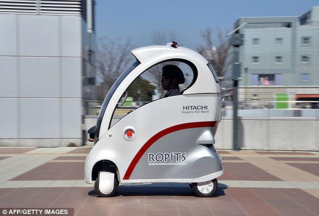 Coche japonés te permite conducir de forma remota