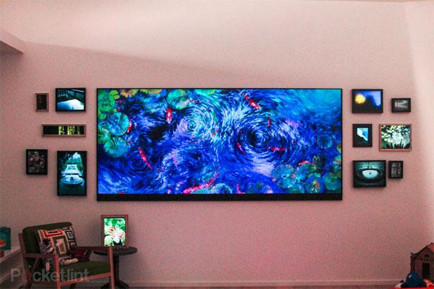 TV 4K de 120 pulgadas es mostrada por Microsoft