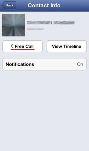 Realizar llamadas gratuitas desde tu iPhone utilizando la App de Faceboo