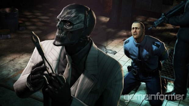 Batman Arkham Origins Mascara negra