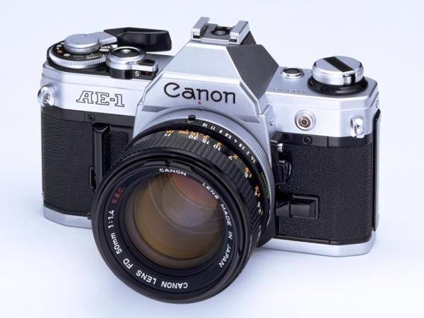Canon AE-1 de 1976