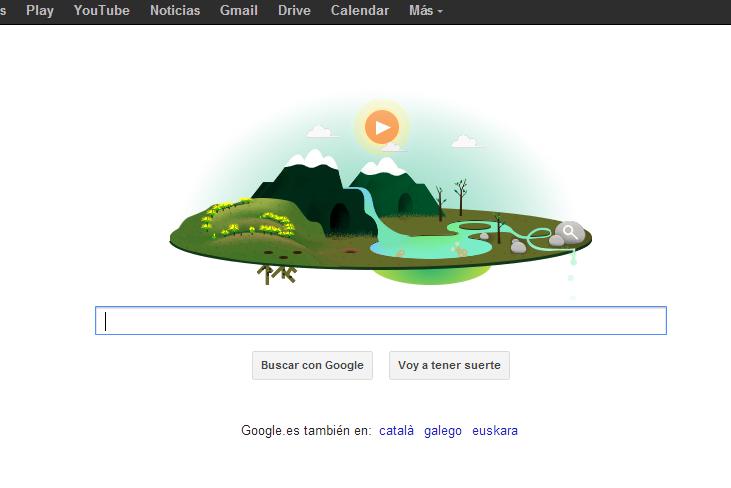 Google celebra el día de la Tierra 2013 con un Doodle animado