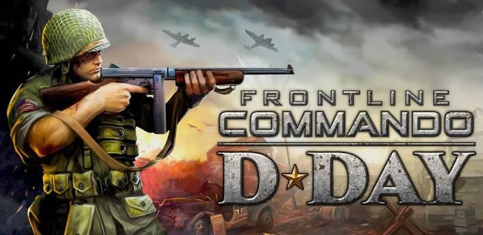 FRONTLINE COMMANDO: D-DAY juego de disparos para Android