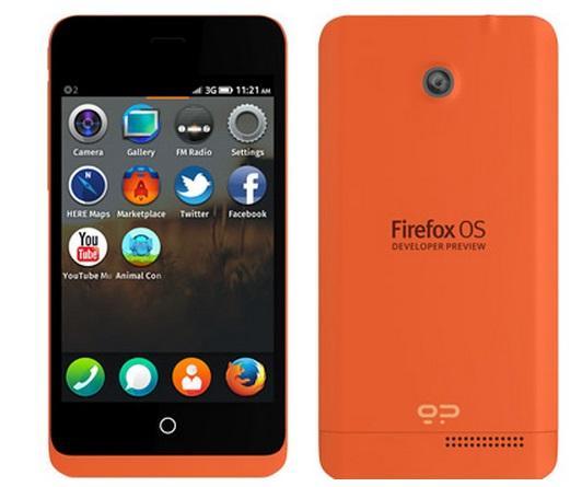 Smartphones con Firefox OS comienzan a ser vendidos de forma online y ya están agotados