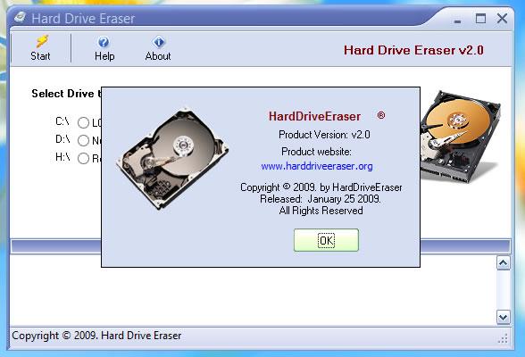 Formatear y borrar un disco duro de forma segura con Hard Drive Eraser