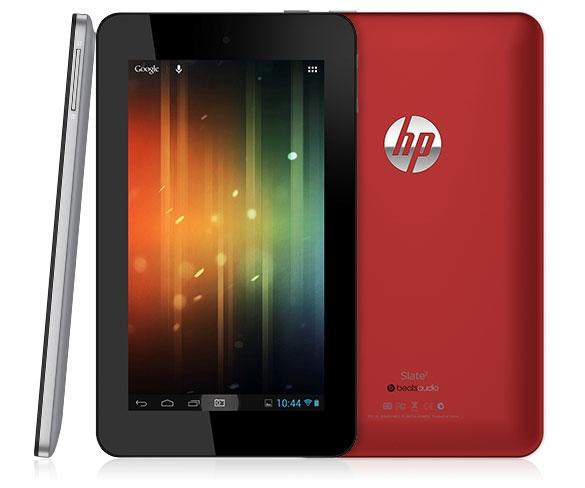 HP Slate 7 la primera tablet con Android de HP ya disponible