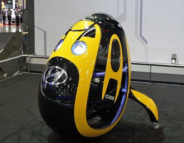 Hyundai presenta un vehículo con forma de huevo: Hyundai E4U