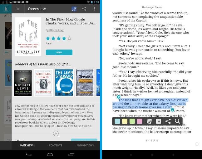 """Kobo – Lector de libros electrónicos """"eBooks"""" para Android"""