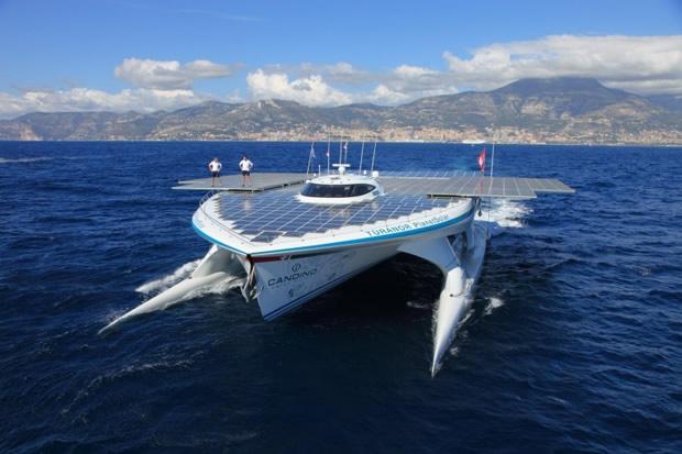 MS Turanor PlanetSolar el barco solar más grande del mundo será utilizado para investigaciones científicas