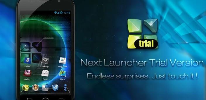 Next Launcher 3D Trial Version – personaliza tu Android de forma futurista