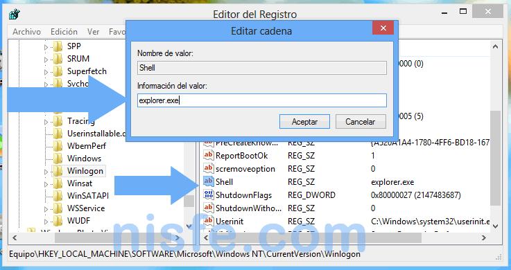 el problema de la pantalla negra de Windows 8 se habrá solucionado