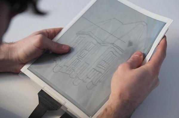 Papertab el ordenador de papel del Futuro