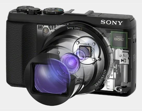 Características de la cámara Sony HX50V con Zoom de 30X