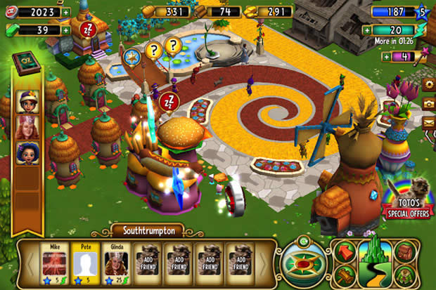 The Wizard of Oz game para iOS – descargar gratuita