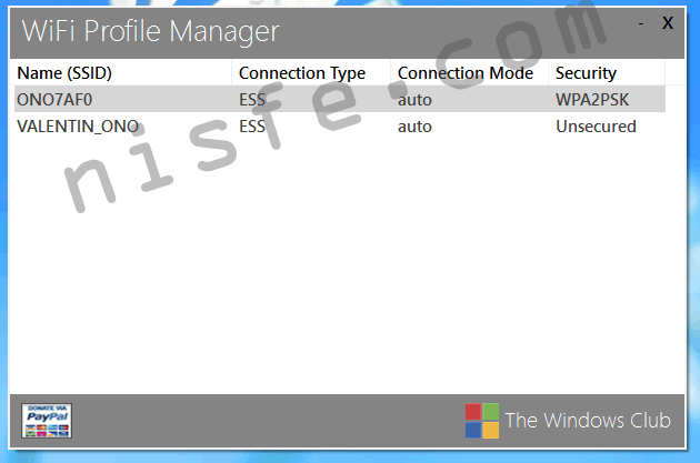 WiFi en Windows 8 - como ver y borrar todas las redes WiFi