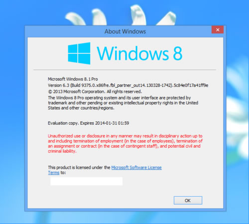 Windows Blue puede llamarse Windows 8.1 – RUMOR