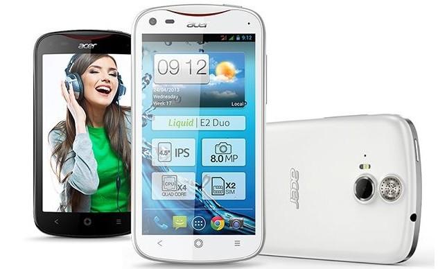 Acer Liquid E2 un smartphone de cuatro núcleos a un precio bajo