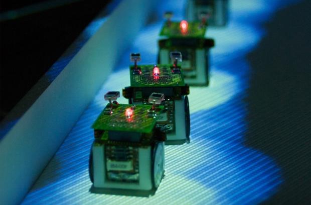 Hormigas robots para estudiar los hábitos del insectos