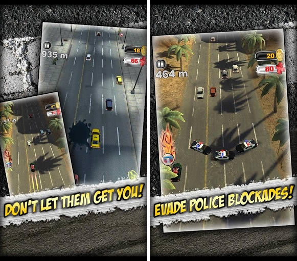 Suspect: The Run! juego de carreras para Android