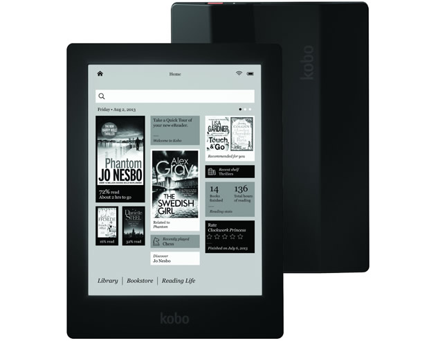 Lector de libros electrónicos Aura HD