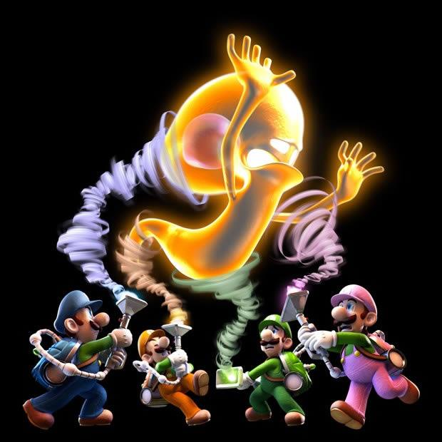 Juego Luigis Mansion Dark Moon