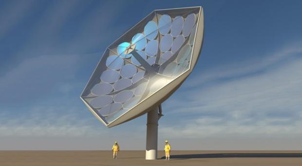 Panel solar desarrollado por IBM  puede concentrar la energía de dos mil soles
