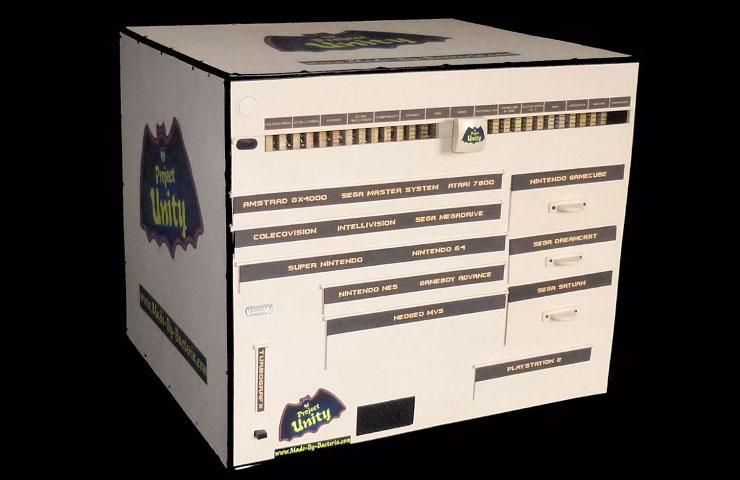 Project Unity una consola que reúne a 15 consolas diferentes