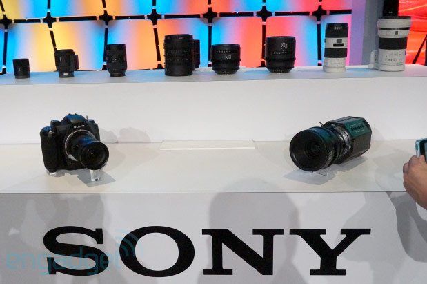 Sony presenta prototipos de cámaras fotográficas y lentes con la tecnología 4K