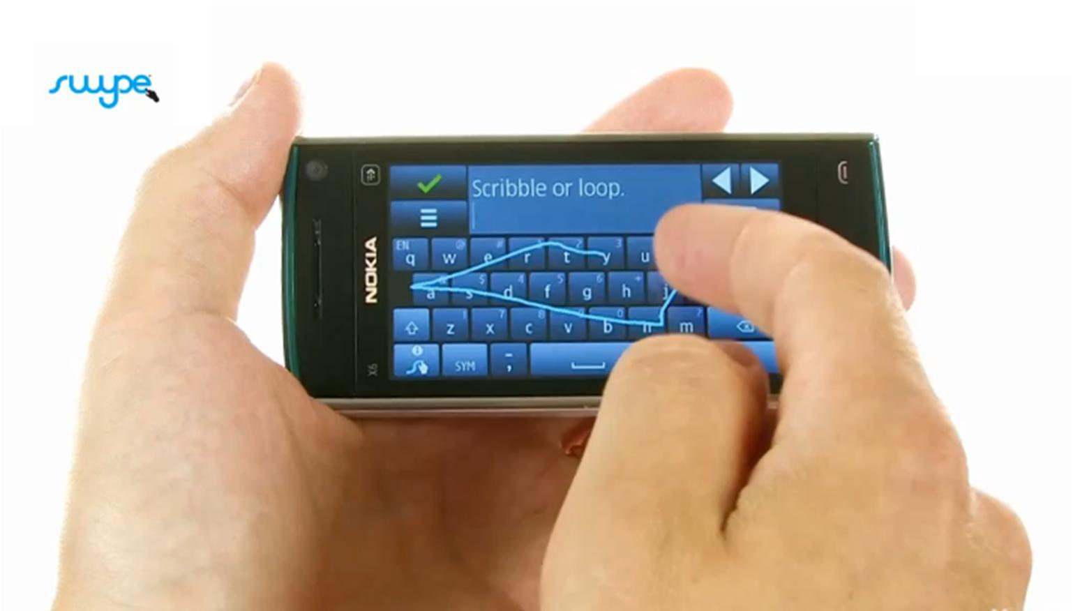 Apple quiere traer el teclado Swype al iPhone