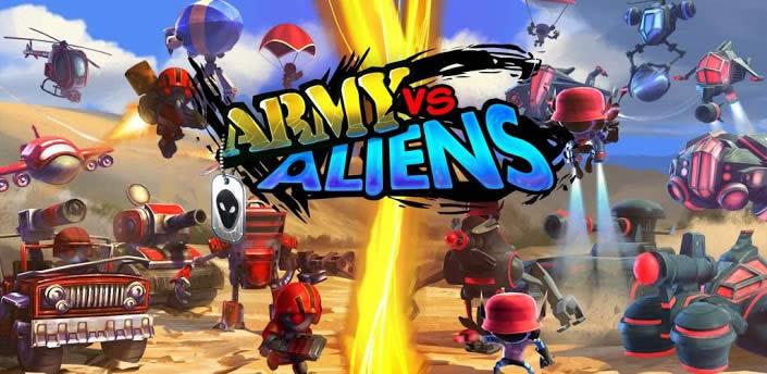 Army Vs Aliens Defense, defiende el planeta de la invasión alienígena