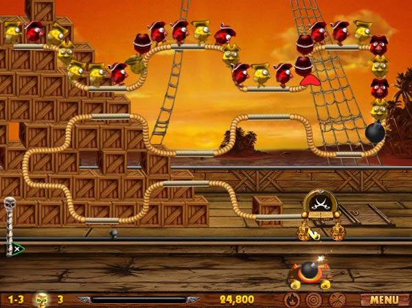Birds Pirates, un entretenido juego para pasar el rato