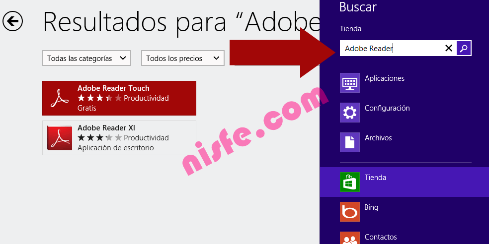 Instalar Adobe Reader Touch