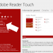 Adobe Reader Touch