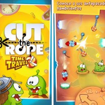 Cut the Rope: Time Travel, viaja en el tiempo en un puzzle totalmente adictivo