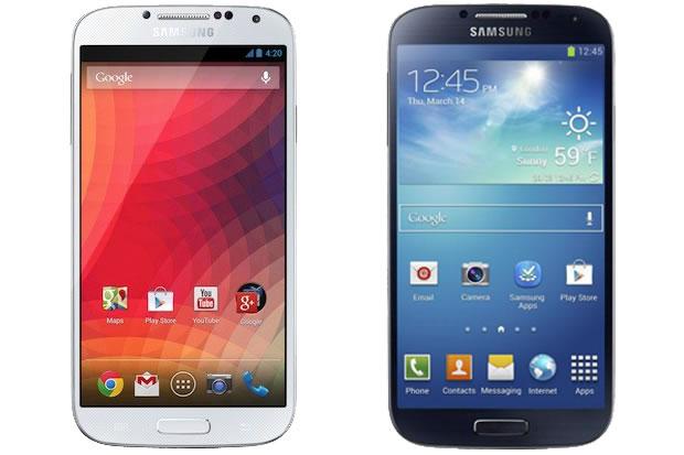 Cuál es la diferencia entre el Galaxy S4 y el S4 Google Edition