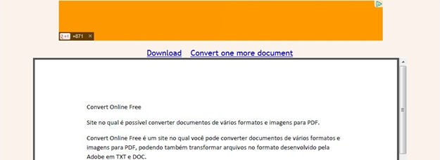 Other documents to PDF