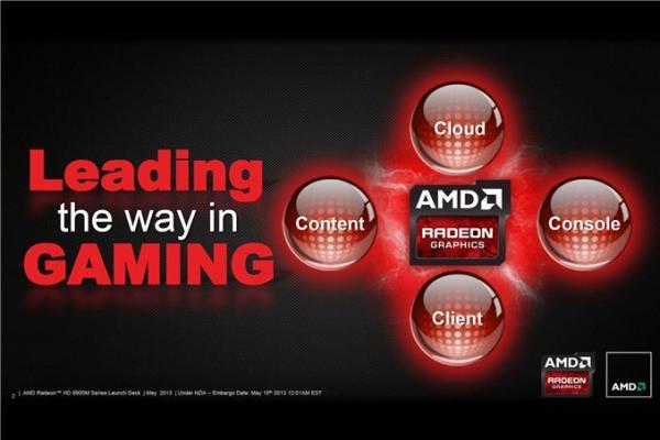AMD revela el lanzamiento de la línea Radeon HD 8900M