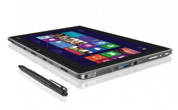 Toshiba WT310, tablet corporativa con Windows 8 Pro y pantalla Full HD