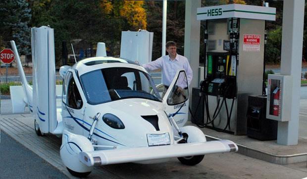 Empresa crea el coche avión Terrafugia TF-X hibrido con autonomía de 800 km