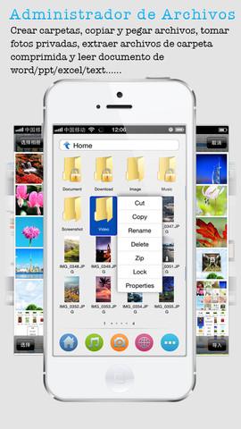 administrar y gestionar archivos en su dispositivo móvil